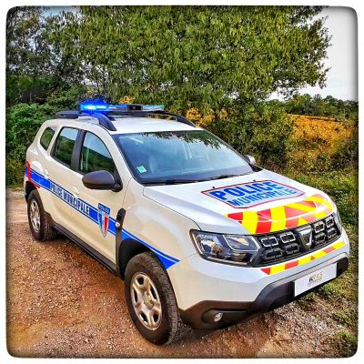 Dacia Duster Police Municipale Saint Hippolyte du fort RAS DISTRIBUTION