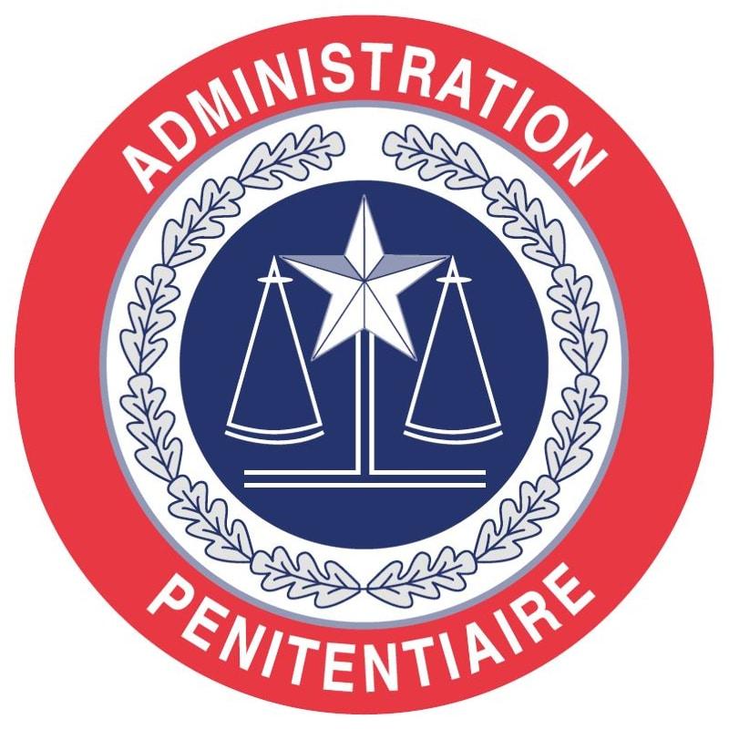 Ecusson administration pénitentiaire