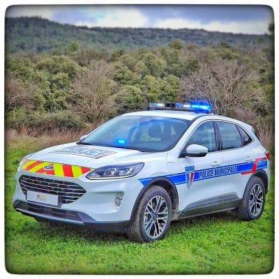 Ford Kuga Police Municipale par RAS DISTRIBUTION