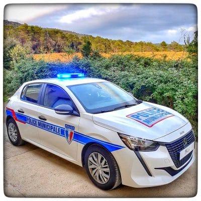 Peugeot 208 Police Municipale Saint Jory RAS DISTRIBUTION