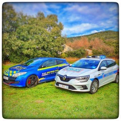 Renault Megane Police Municipale par RAS DISTRIBUTION